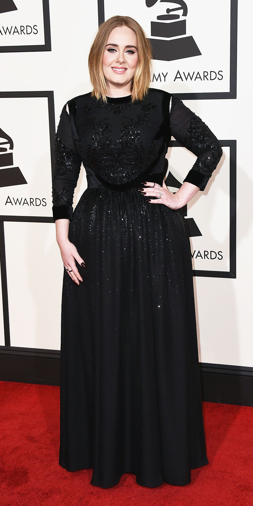looks do grammy adele 2016