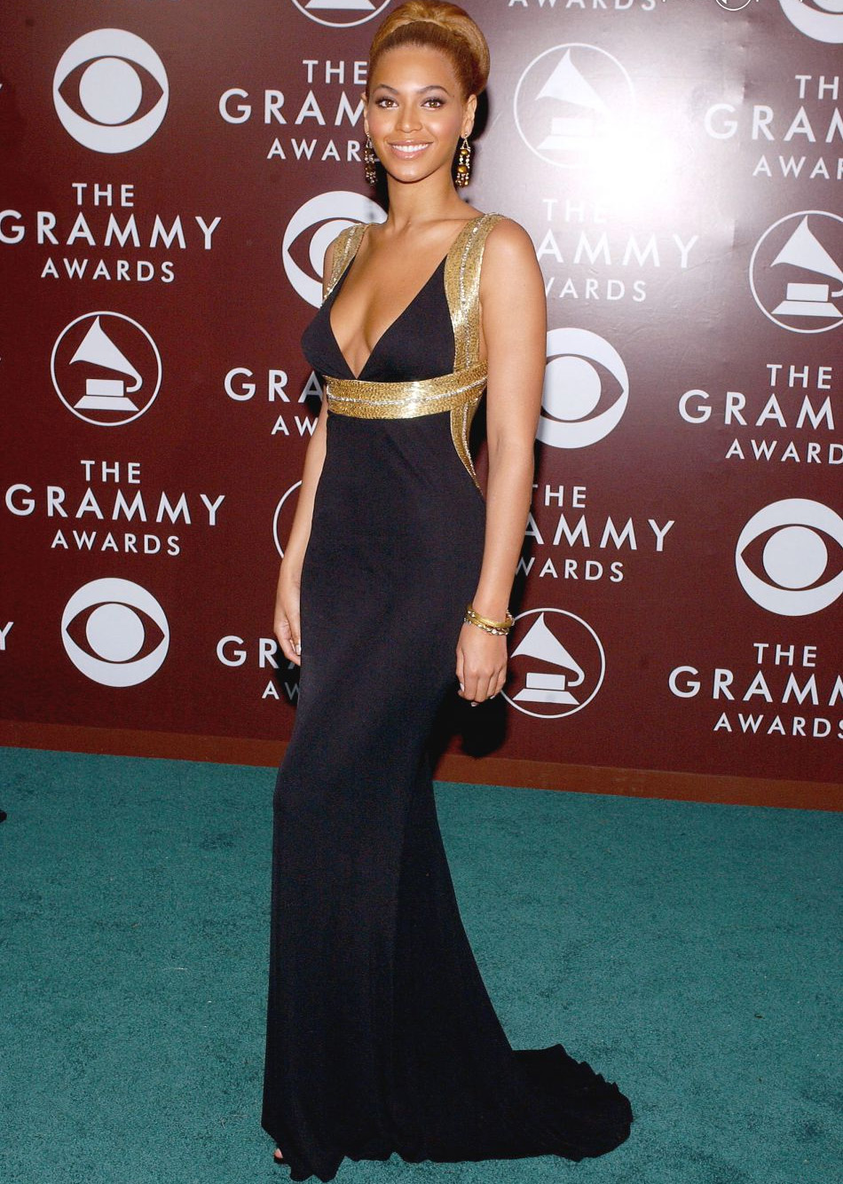 looks do grammy beyonce 2005