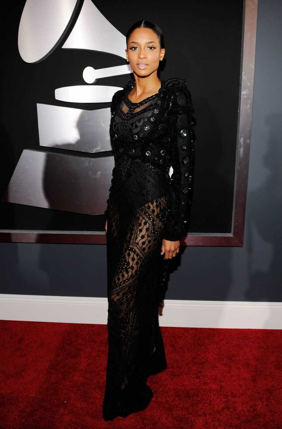 looks do grammy ciara 2010