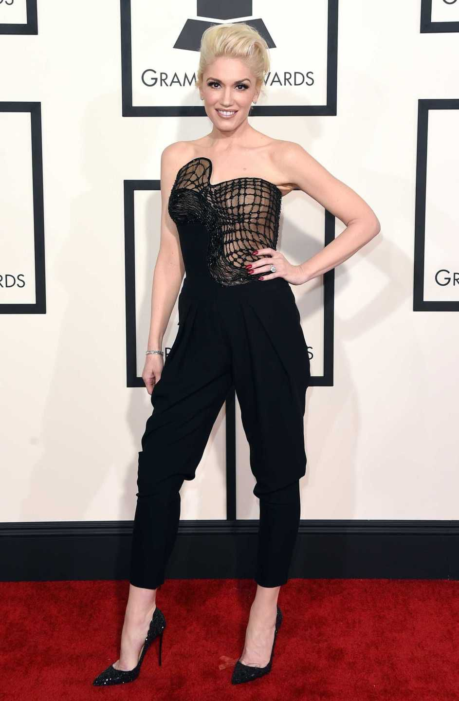 looks do grammy gwen stefani 2015