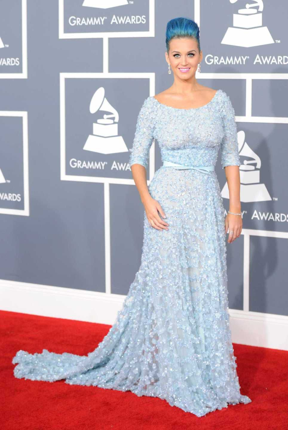 looks do grammy katy perry 2012