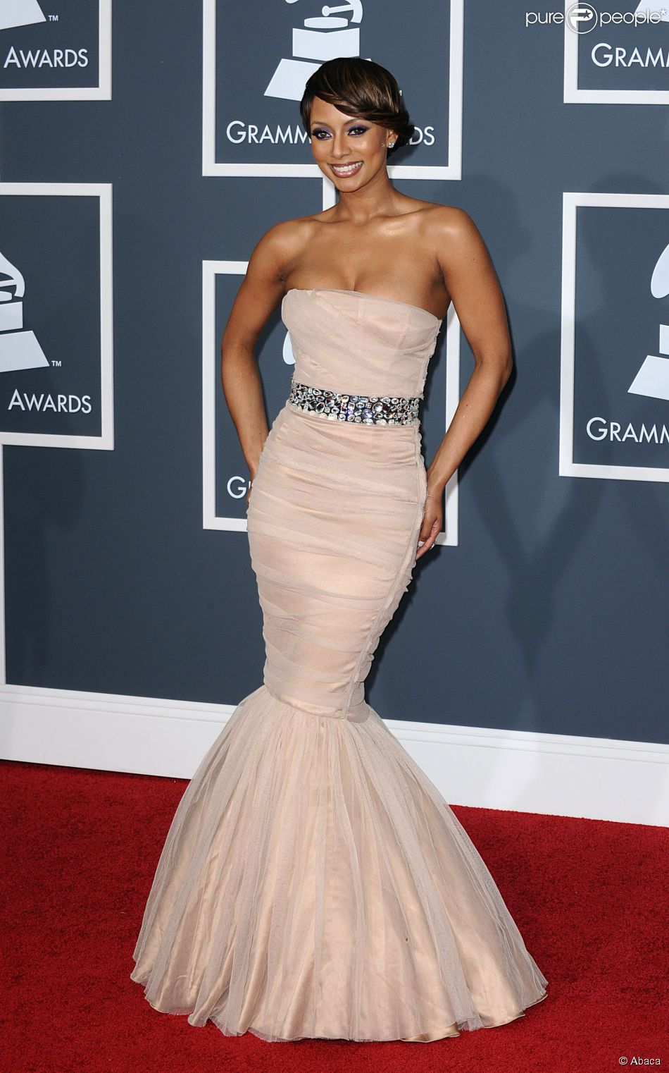 looks do grammy keri hilson 2010
