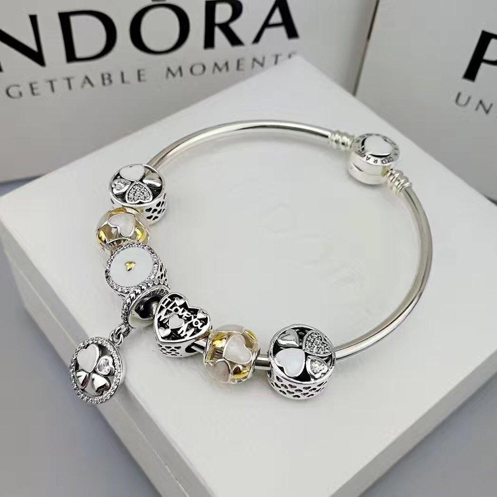 pulseira de charms pandora