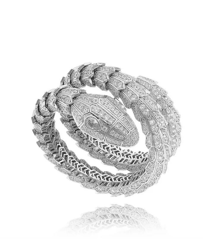 semijoias para festas bracelete serpente
