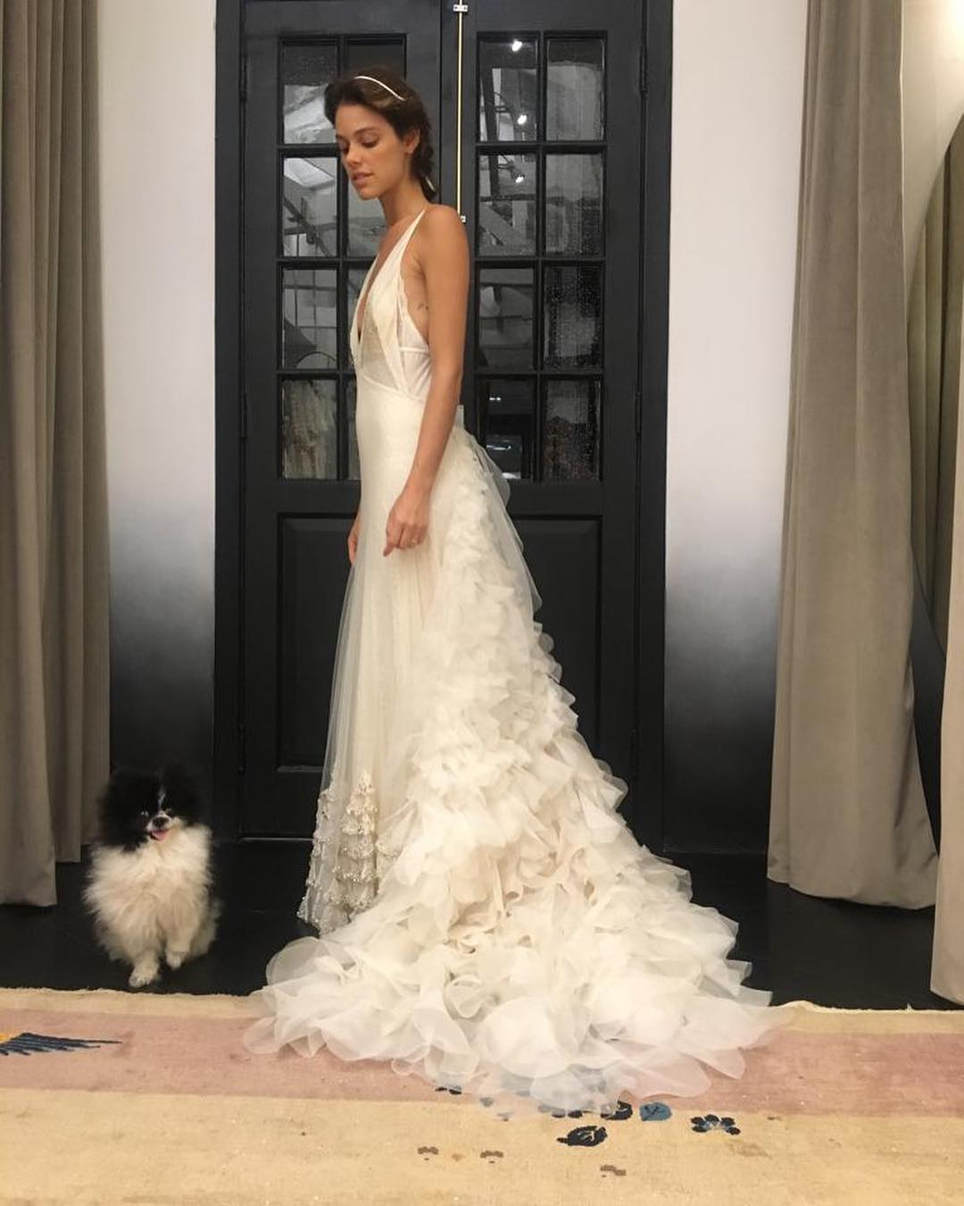 vestido de noiva laura neiva