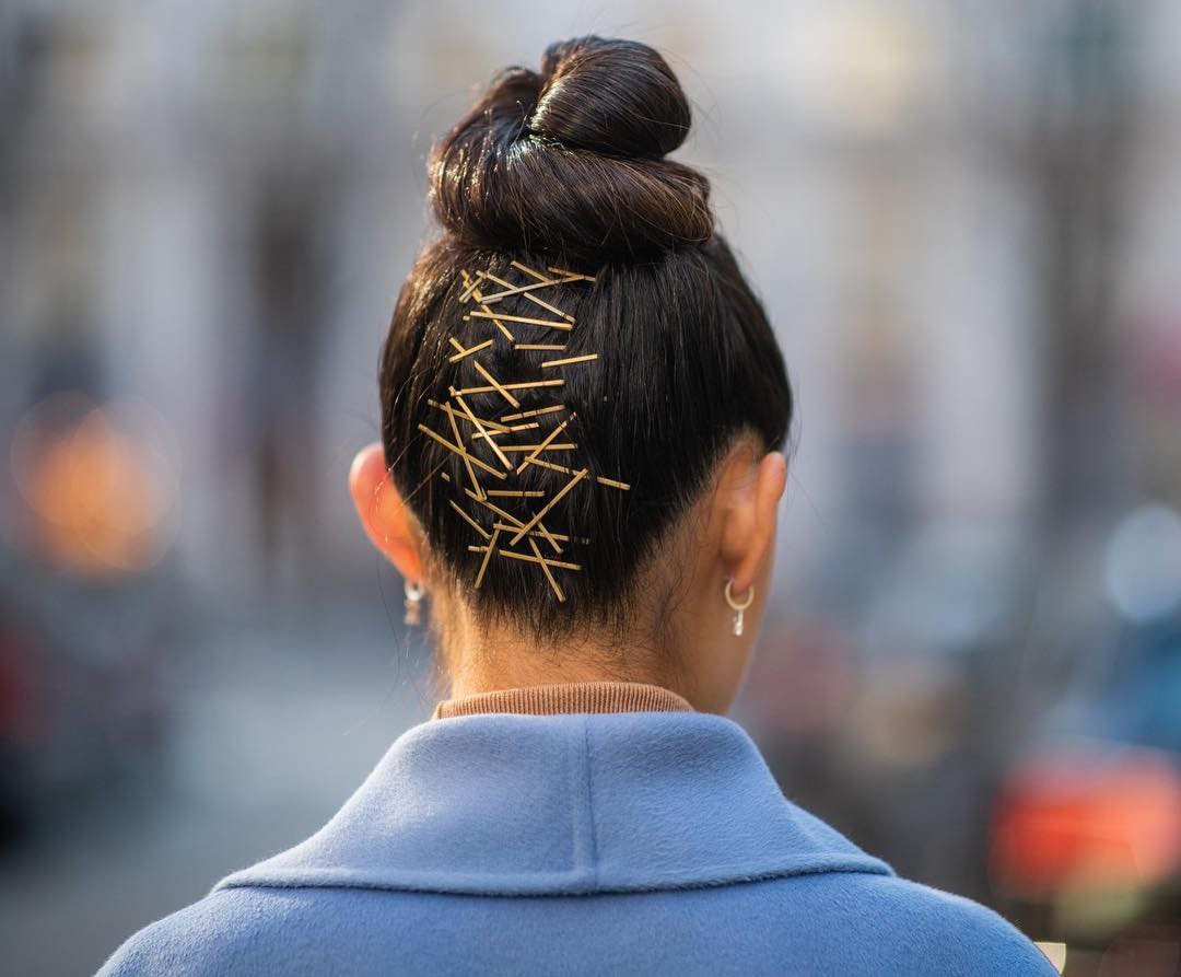 acessorios para o cabelo grampos a mostra