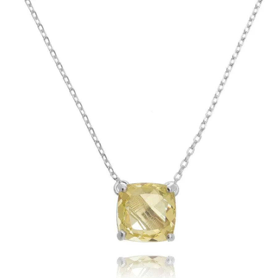 joias com pedras amarelas quadradinho