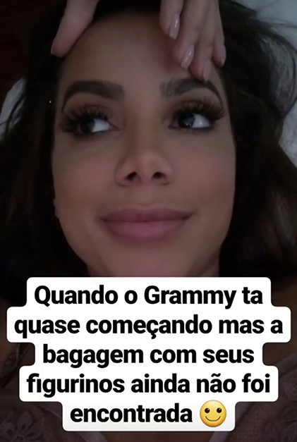 joias da anitta grammy latino stories