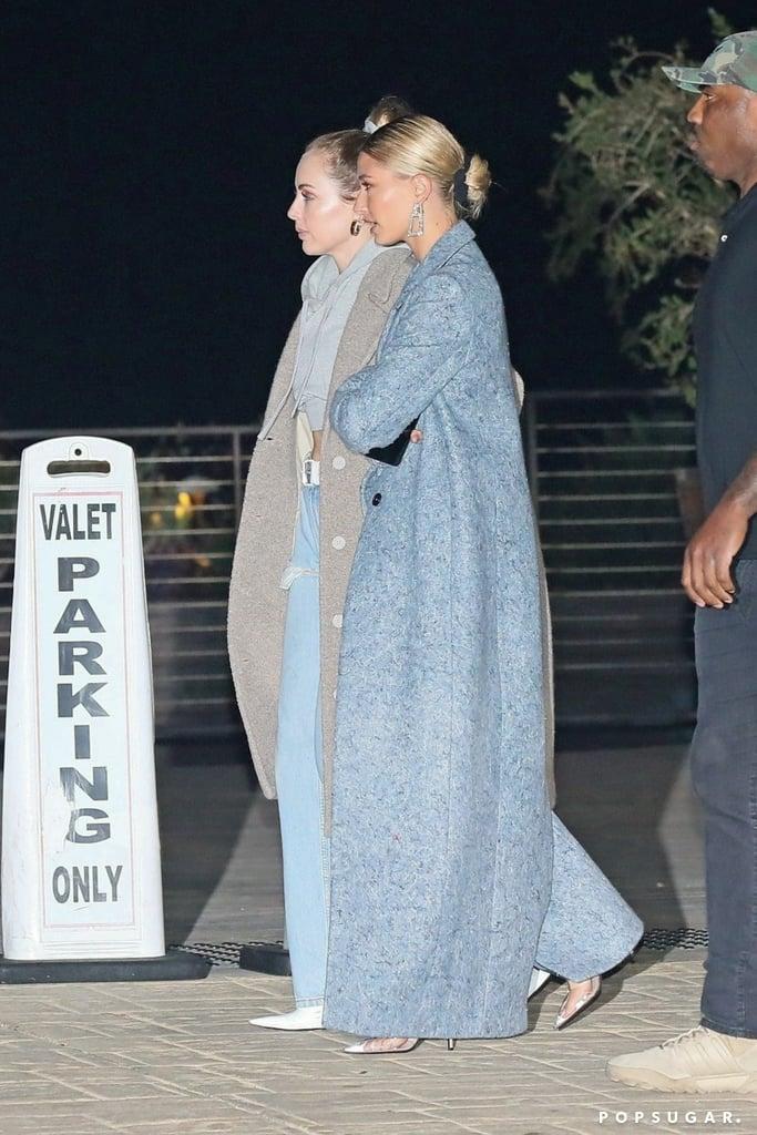 joias em destaque Hailey Bieber look