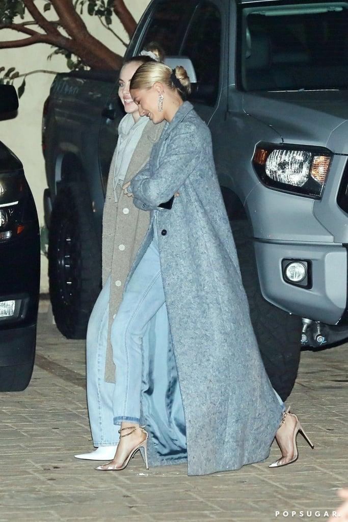 joias em-destaque Hailey Bieber sapato