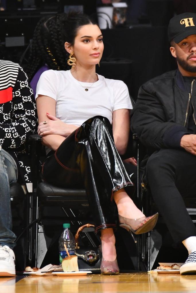 joias em destaque Kendall Jenner sapatos