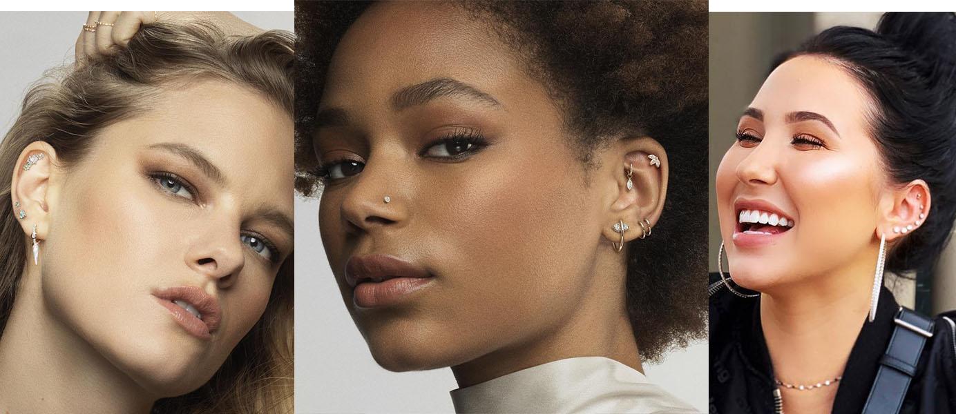piercings multiplos