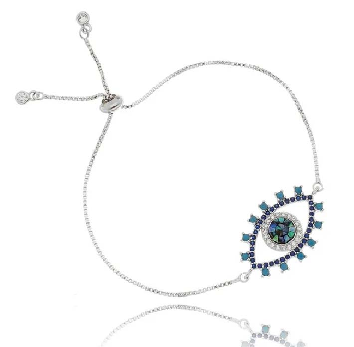 pulseiras de olho grego mosaico