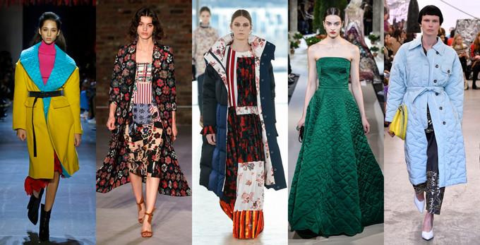 semana de moda de nova york 2019 acolchoado