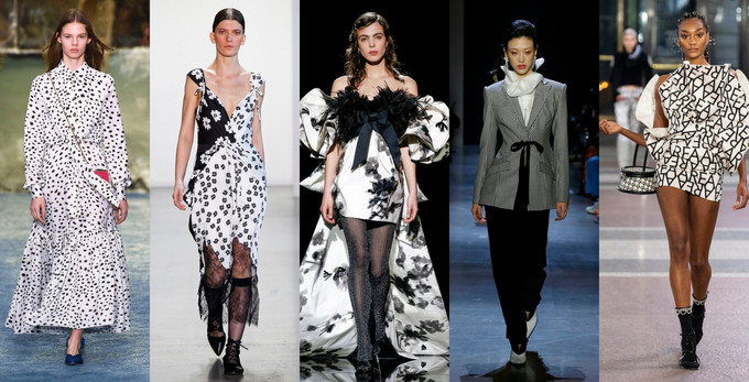semana de moda de nova york 2019 preto e branco