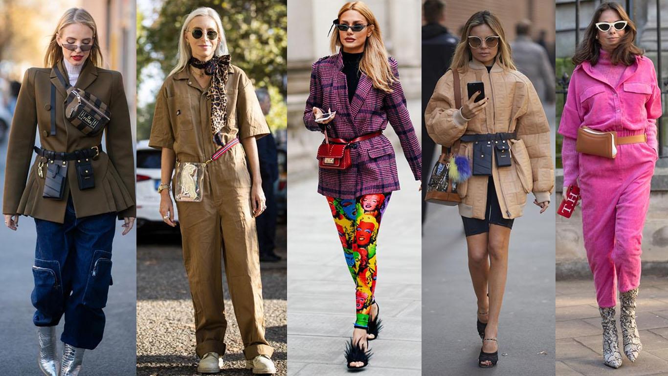 tendencias do street style 2019 cinto