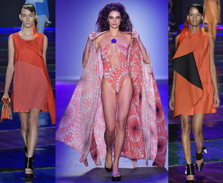Sao paulo fashion week 2019 coral