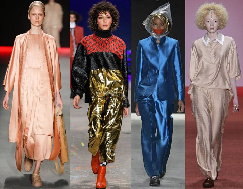 Sao paulo fashion week 2019 metalizados