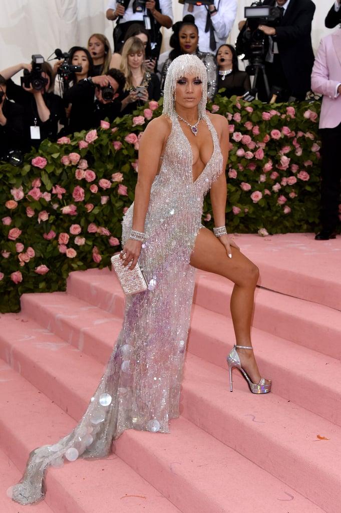 Jennifer Lopez Met Gala Metalizados