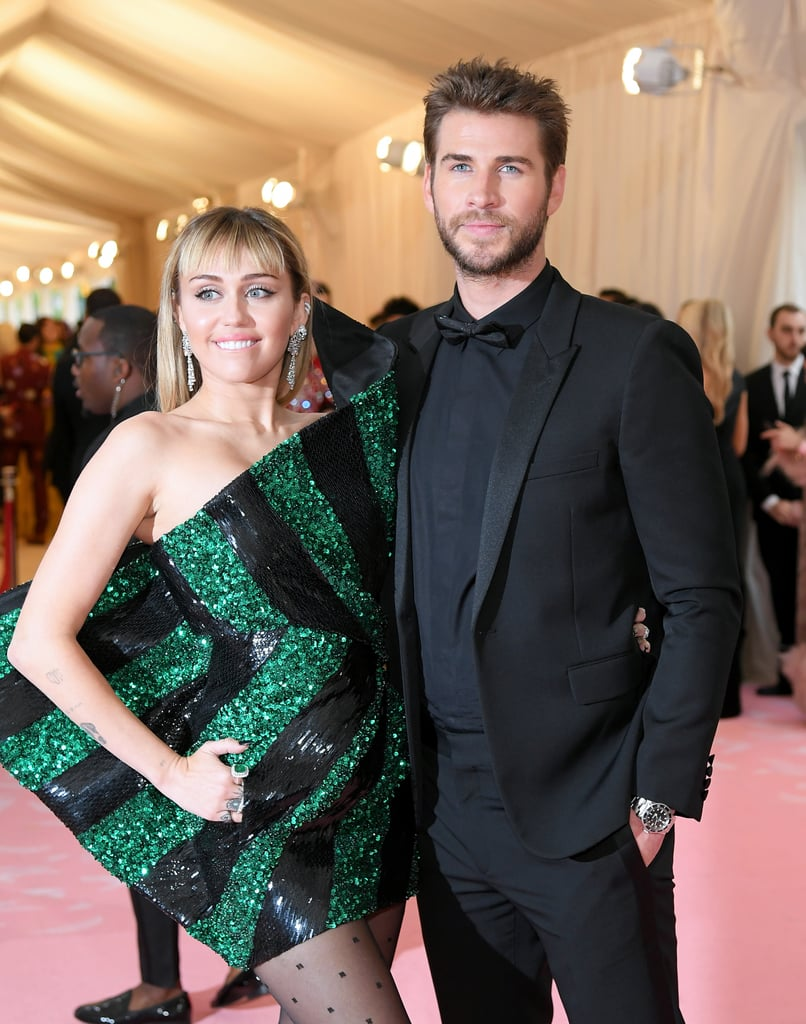 Liam Hemsworth Miley Cyrus MET Gala