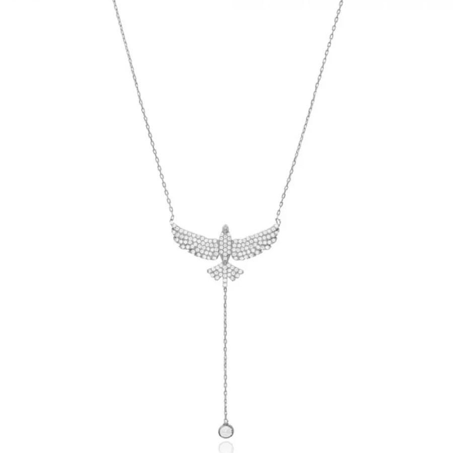colares espirito santo prata delicado