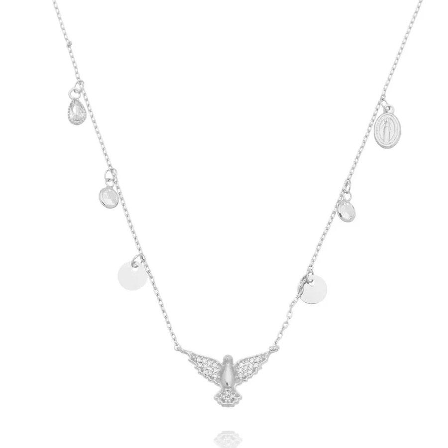 colares espirito santo prata