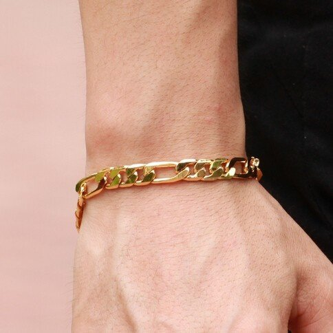 pulseira para homens ouro