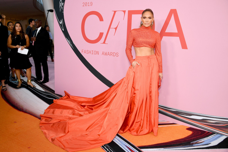 CFDA Fashion Awards 2019 Jennifer Lopez