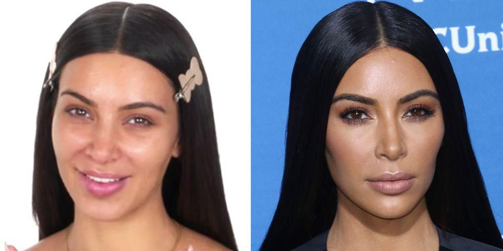 Kardashians Jenner sem maquiagem Kim kardashian