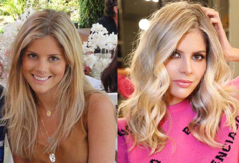 antes e depois das blogueiras lala rudge