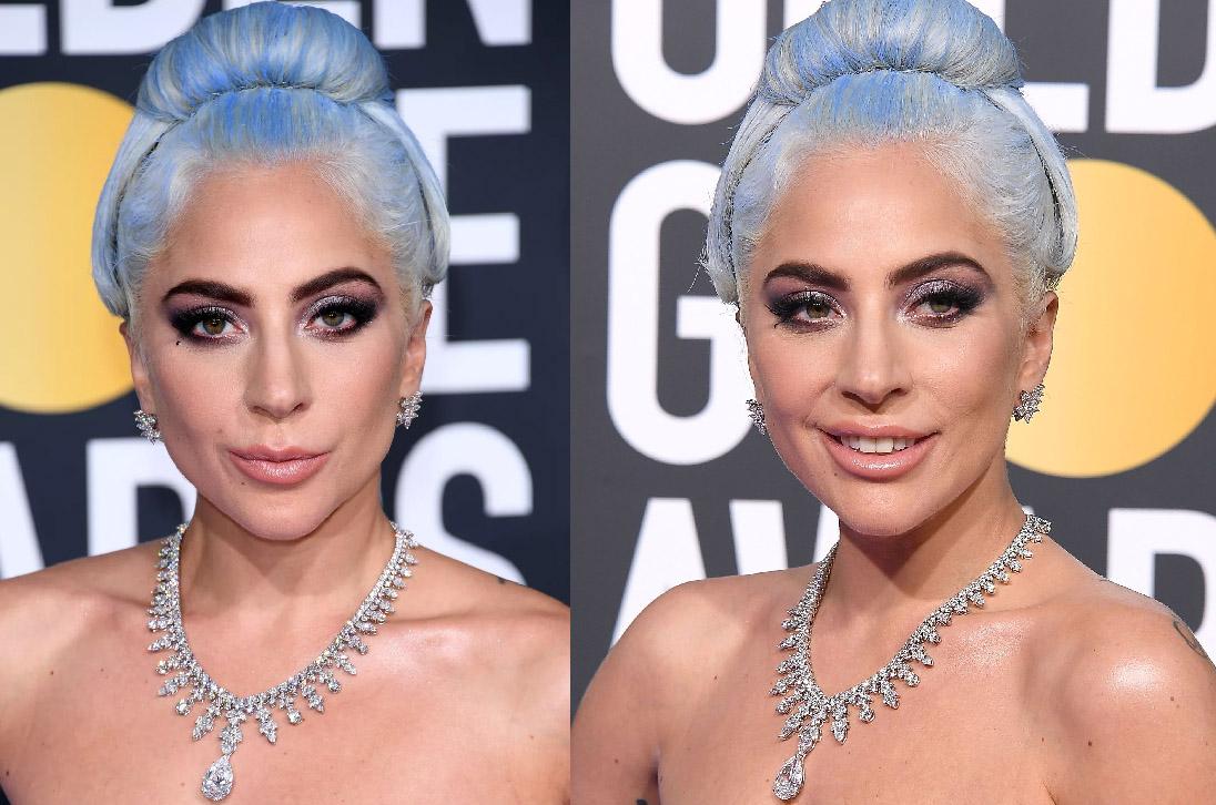 cabelos coloridos Lady Gaga