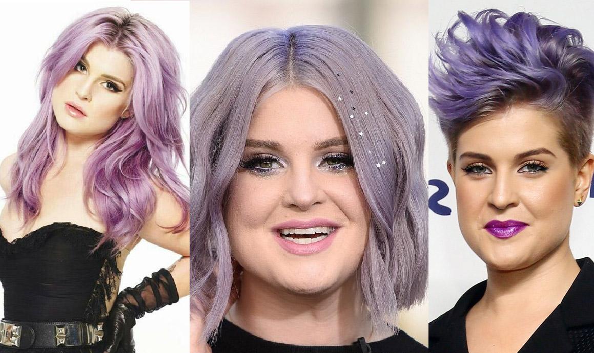 cabelos coloridos kelly osbourne