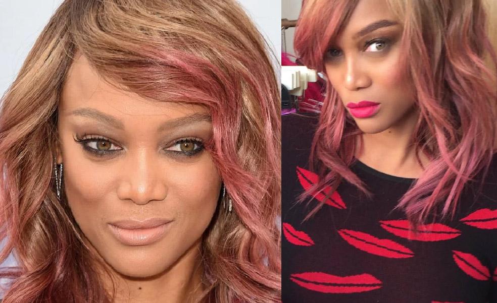cabelos coloridos tyra banks