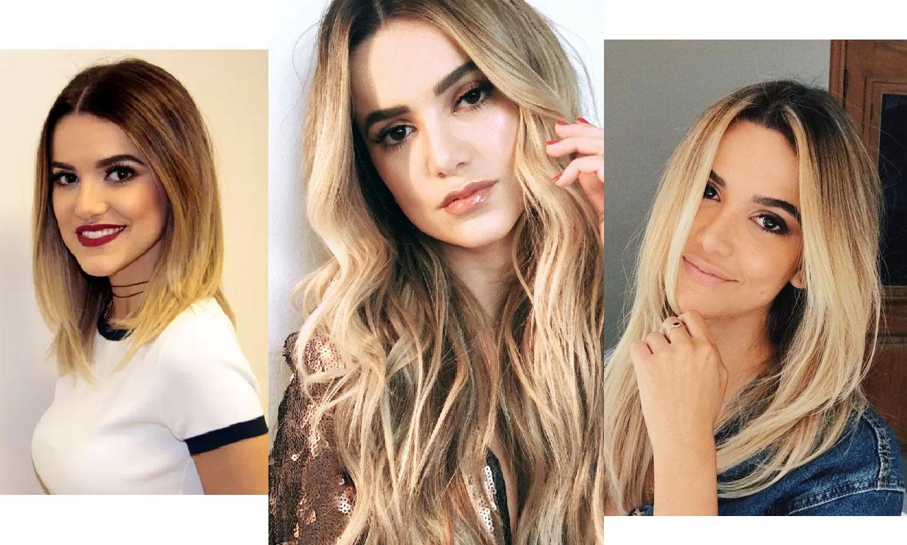 celebridades de cabelo curto manu gavassi loira