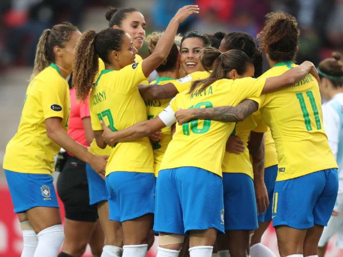 seleção de futebol feminino