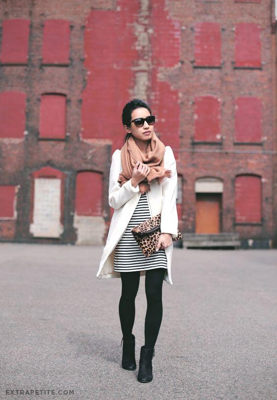 Looks com meia calça branco