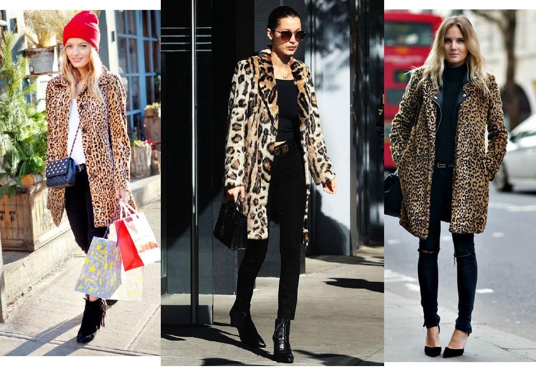 animal print no inverno casaco