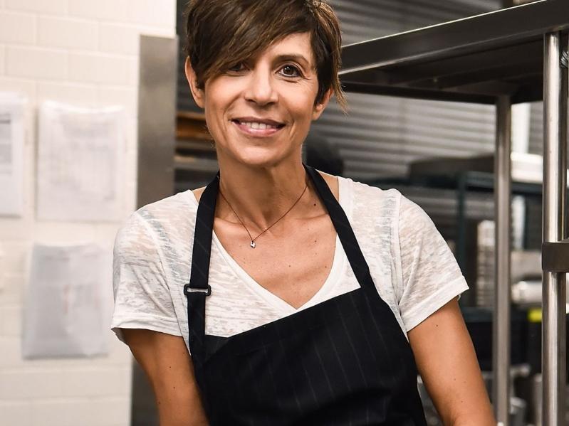 chefs de cozinha mulheres Dominique Crenn