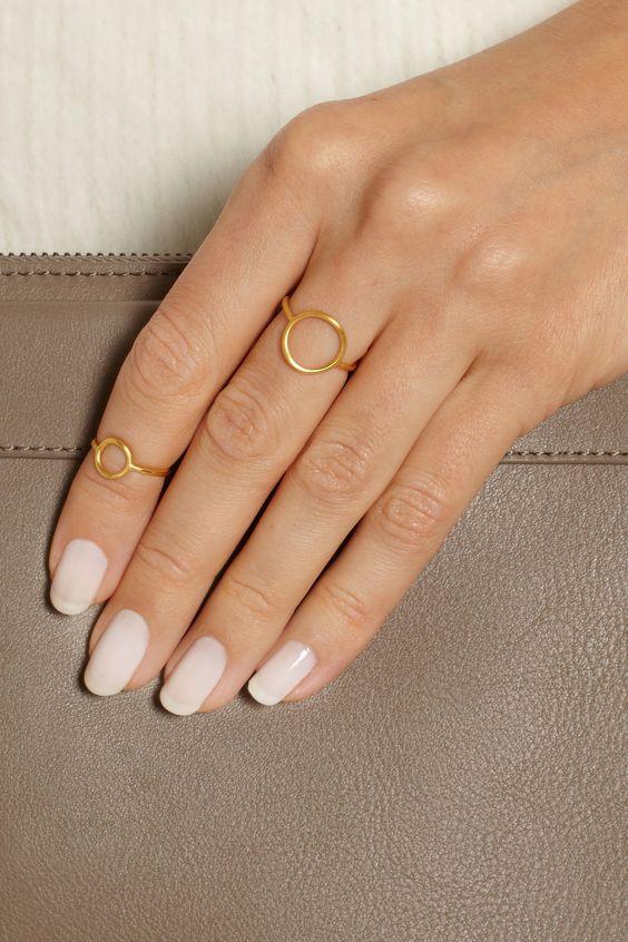 fotos de anel de falange basico