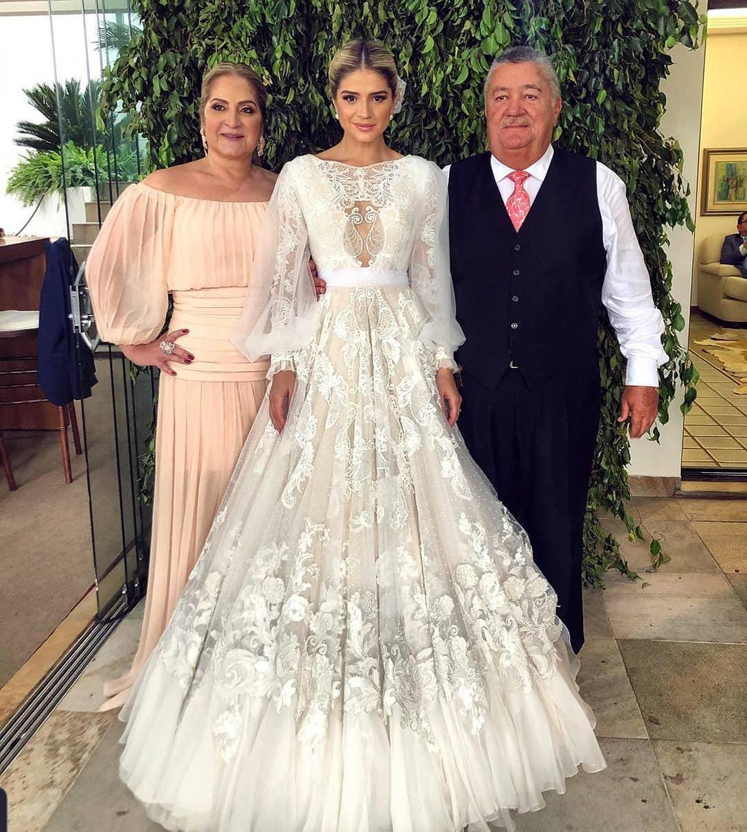 vestido de casamento da thassia naves