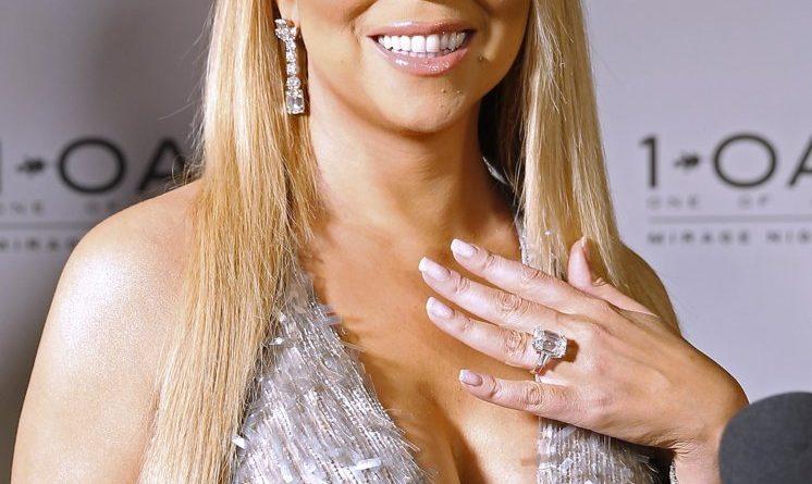 Mariah Carey Anel de Noivado