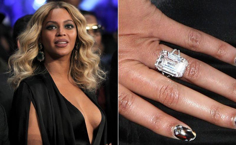 anel de noivado beyonce