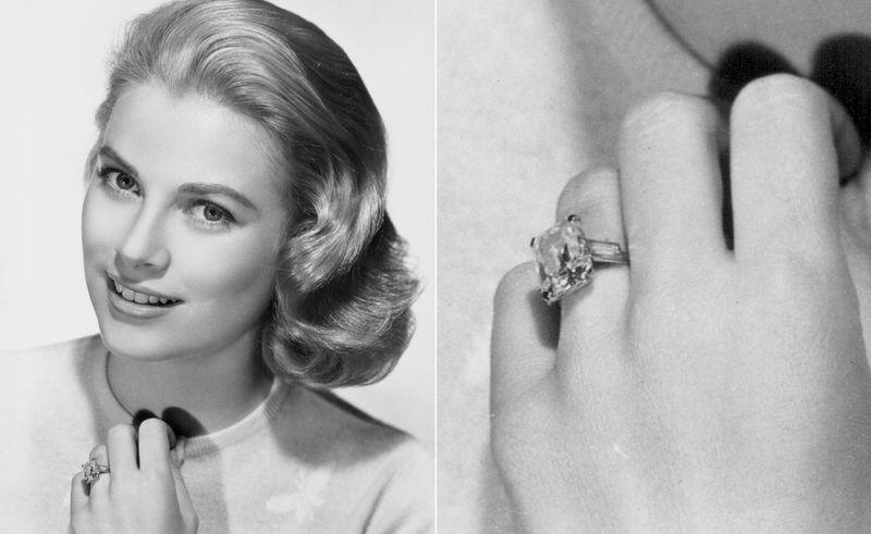 anel de noivado grace kelly