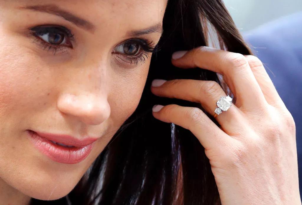 anel de noivado meghan markle