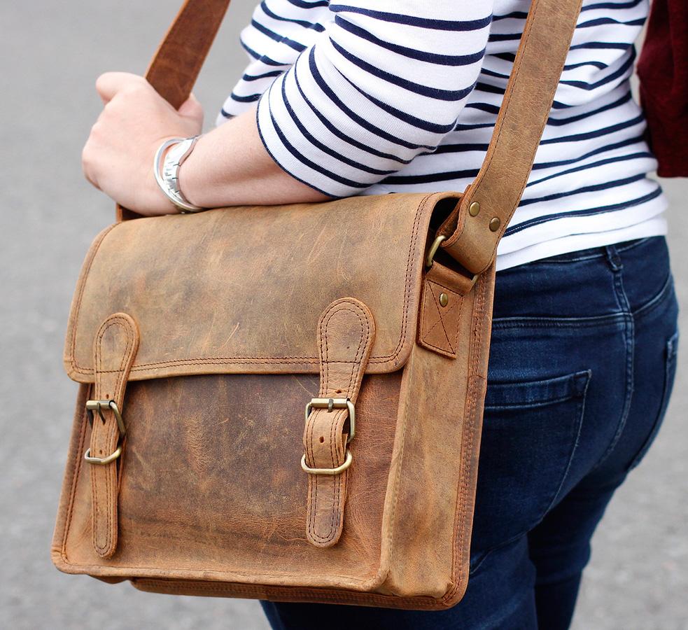bolsa de carteiro feminina