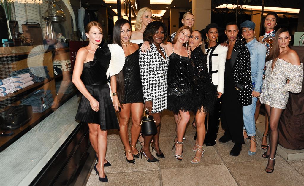 celebridades com oliver rousteing