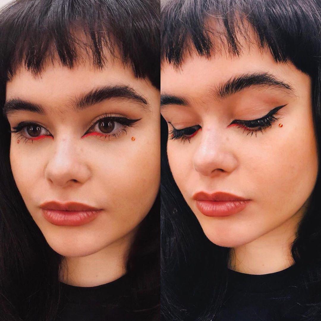 maquiagem kat delineado