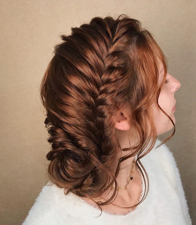 penteado de festa com trança