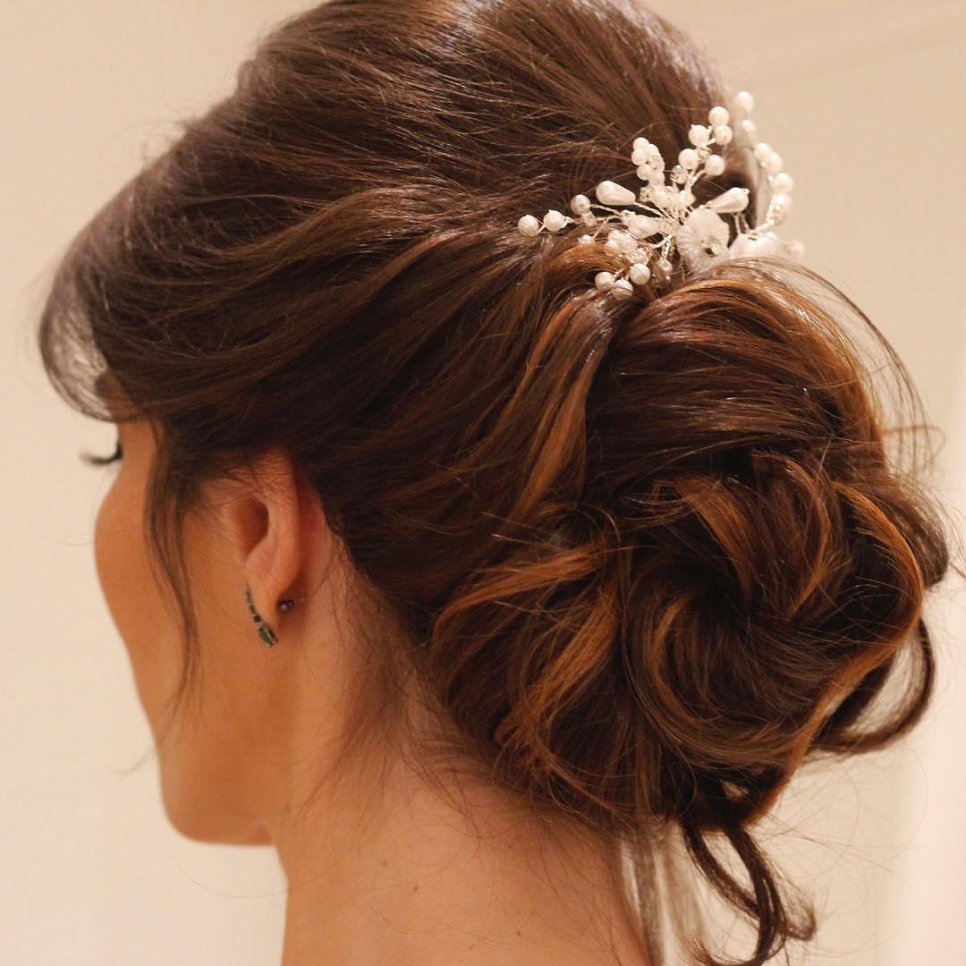 penteado de festa noiva