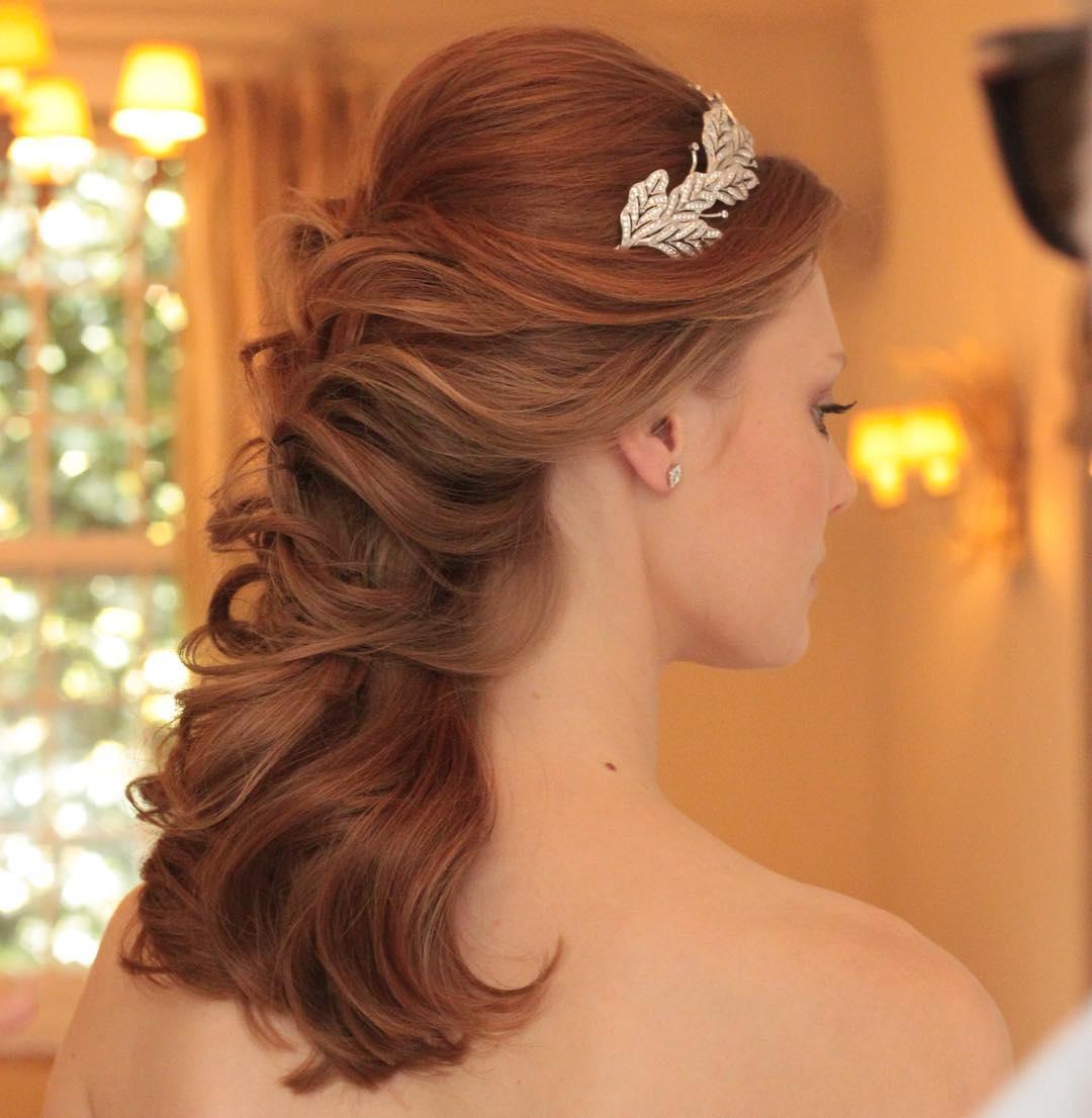 penteado de noiva cabelo ruivo